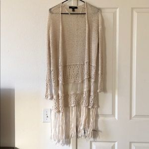 Cream Boho Sweater